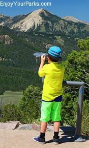 Galena Summit Overlook, Idaho