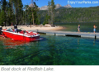 Redfish Lake, Sawtooth National Recreation Area, Idaho
