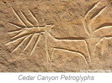 Cedar Canyon Petrophyphs, Wyoming