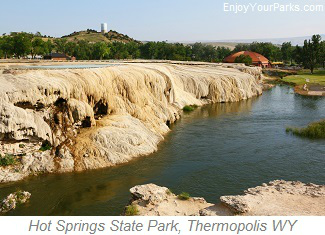 Hot Springs State Park, Thermopolis Wyoming