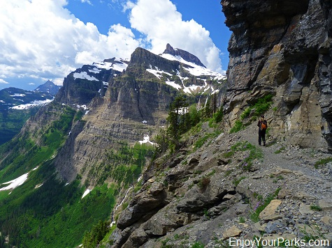 Brown Pass, Hole In The Wall, Glacier National Park