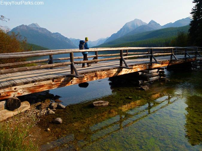Bowman Creek Crossing, Quartz Lake Loop Trail, Glacier National Park