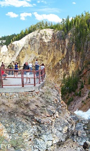 Grand Canyonn of the Yellowstone, Yellowstone National Park