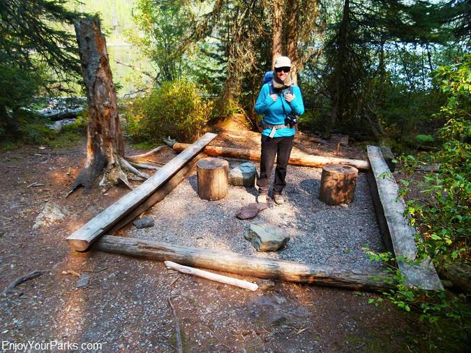 Quartz Lake Campground, Glacier National Park