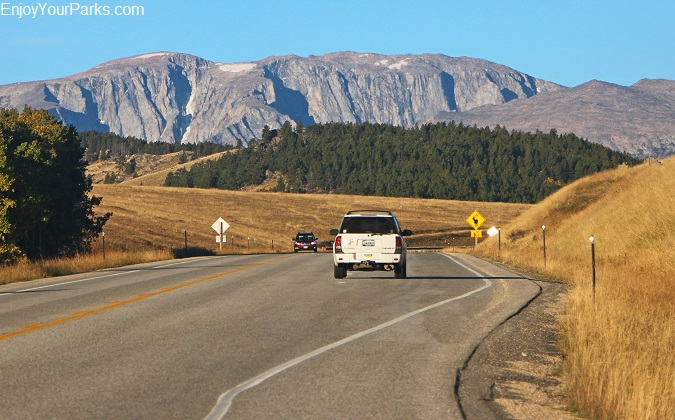 Cloud Peak Skyway Scenic Byway in Northern Wyoming