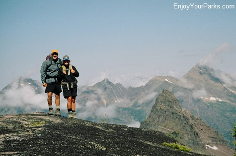 Comeau Pass, Sperry Glacier Trail, Glacier National Park