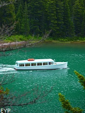 Many Glacier Boat Tour, Grinnell Glacier Trail, Glacier National Park
