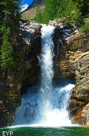 Trick Falls, Two Medicine Area, Glacier National Park