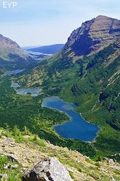 Swiftcurrent Valley, Granite Park Chalet, Glacier National Park