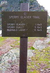 Sperry Glacier Trail, Glacier National Park