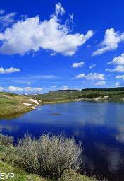 Yellowstone River, Hayden Valley, Yellowstone National Park