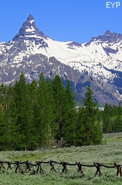 Pilot Peak and Index Peak, Cooke City Montana, Yellowstone National Park