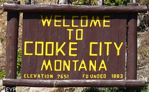 Cooke City Montana, Yellowstone National Park