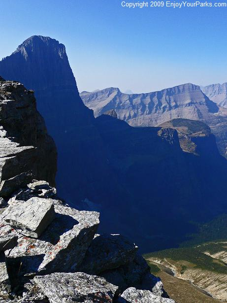 Cataract Mountain, Glacier National Park