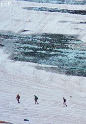Grinnell Glacier, Many Glacier Area, Glacier National Park