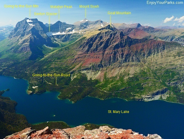 Red Eagle Peak, Glacier National Park