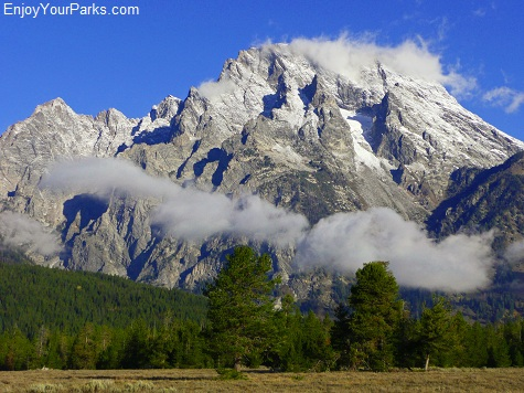 Mount Moran, String Lake Area, Grand Teton National Park
