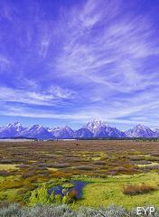 Willow Flats, Jackson Lake Lodge, Grand Teton National Park