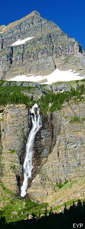 Atsina Falls, Stoney Indian Pass Trail, Glacier National Park