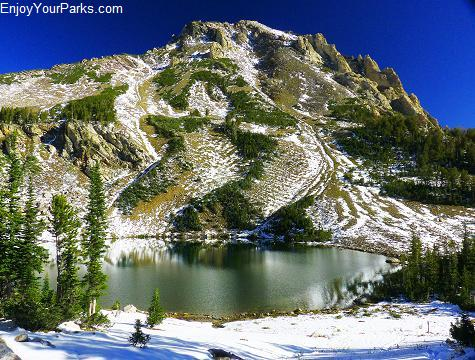 Holly Lake, Paintbrush Canyon - Cascade Canyon Loop Trail, Grand Teton National Park