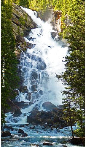 Hidden Falls, Jenny Lake, Grand Teton National Park