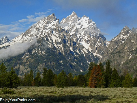 Cathedral Group Turnout, String Lake Area, Grand Teton National Park