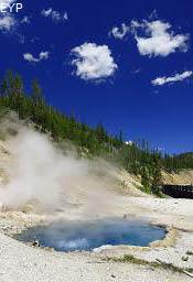 Beryl Spring, Norris Junction Area, Yellowstone National Park