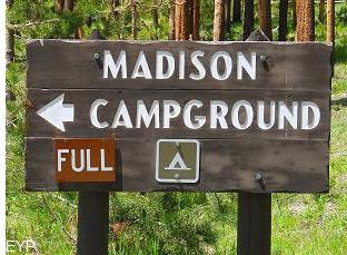 Madison Campground, Madison Junction, Yellowstone National Park