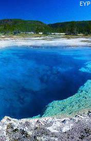 Sapphire Pool,  Black Sand Geyser Basin, Yellowstone National Park