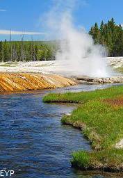 Firehole River, Black Sand Geyser Basin, Yellowstone National Park