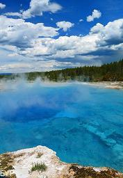 Excelsior Geyser Crater, Yellowstone National Park