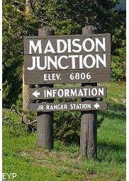 Madison Junction, Yellowstone National Park