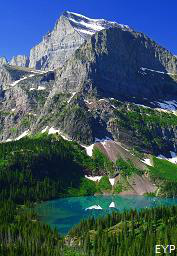 Grinnell Lake, Glacier National Park Montana