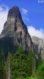 Pumpelly Pillar, Two Medicine Area, Glacier National Park