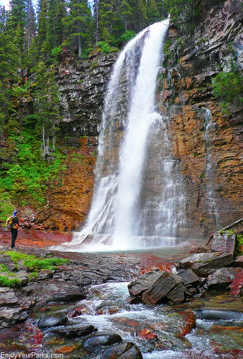Virginia Falls, Glacier National Park