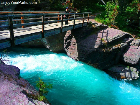 St. Mary River, Saint Mary & Virginia Falls, Glacier National Park