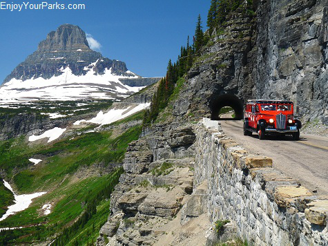 Going To The Sun Road, Glacier National Park Montana