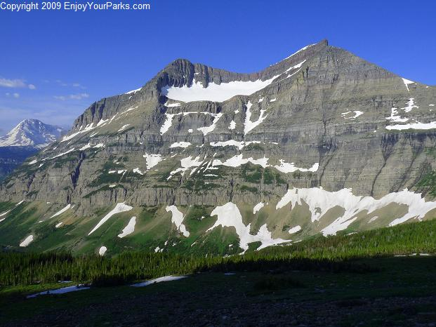 Piegan Mountain, Glacier National Park
