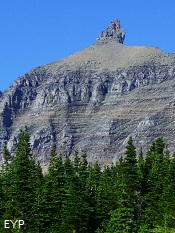 Bishops Cap, Highline Trail, Glacier National Park
