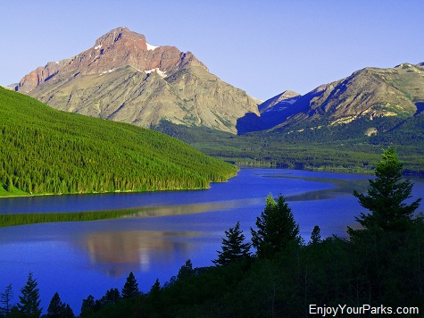 Rising Wolf Mountain, Two Medicine Area, Glacier National Park