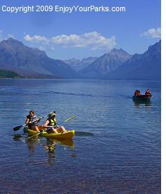 Apgar Village, Lake McDonald, Glacier National Park