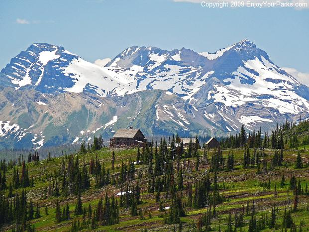 Granite Park Chalet, Grinnell Glacier Overlook, Glacier National Park