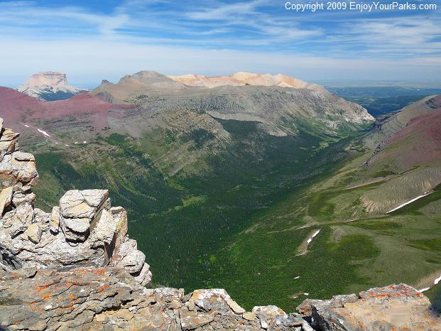 Crowfeet Mountain, Glacier National Park