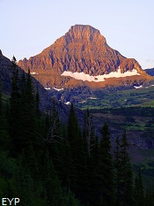 Reynolds Mountain, Highline Trail, Glacier National Park