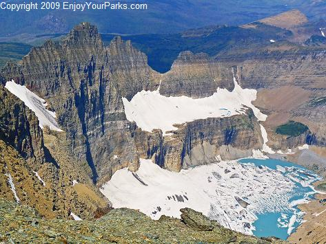 Mount Gould Summit, Glacier National Park