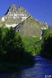 Mount Wilbur, Grinnell Glacier Trail, Glacier National Park