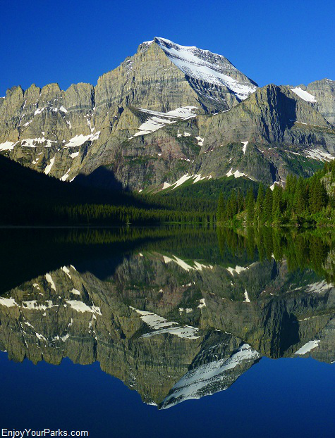 Mount Gould, Glacier National Park Montana.