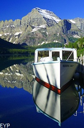 Many Glacier  Boat Tour, Glacier National Park