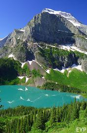 Grinnell Lake, Many Glacier Boat Tour, Glacier National Park
