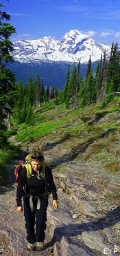 The Loop Trail, Granite Park Chalet, Glacier National Park